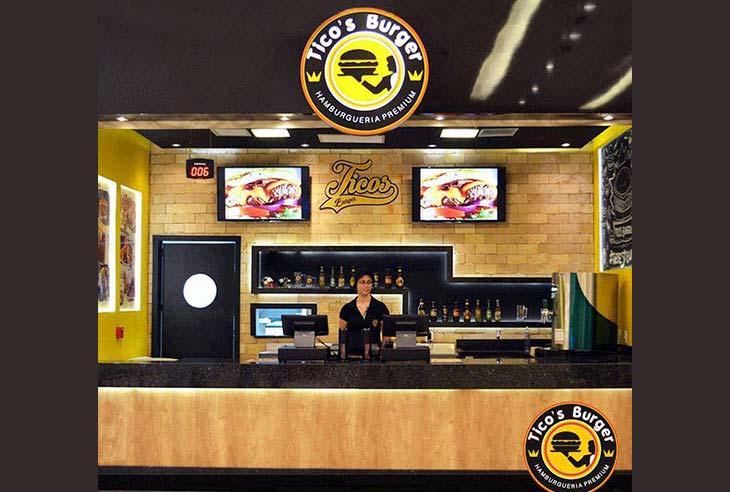 Franquia Tico's Burger como funciona