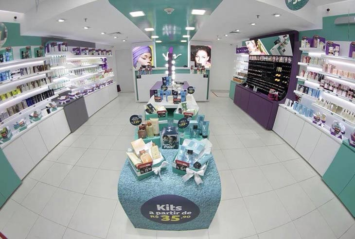 Franquia Yes! Cosmetics quero uma